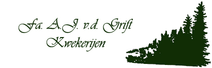 Firma A.J. van der Grift Kwekerijen